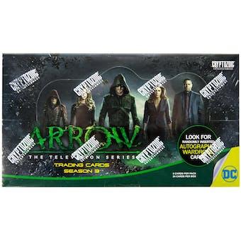 Arrow Season Three (3) Trading Cards Box (Cryptozoic 2016)