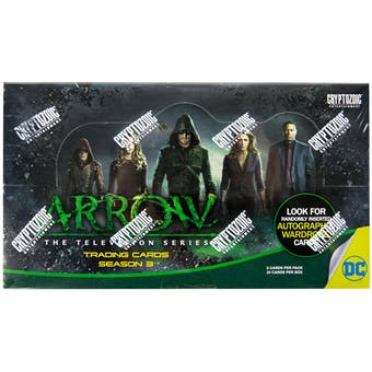 Arrow Season Three (3) Trading Cards Box (Cryptozoic 2016)