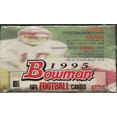 1995 Bowman Football Retail 20 Pack Box