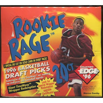 1996/97 Collector's Edge Rookie Rage Basketball Retail Box