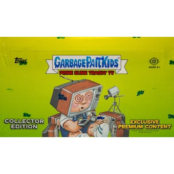 Garbage Pail Kids Prime Slime Trashy TV Collector's Edition Box (Topps 2016)