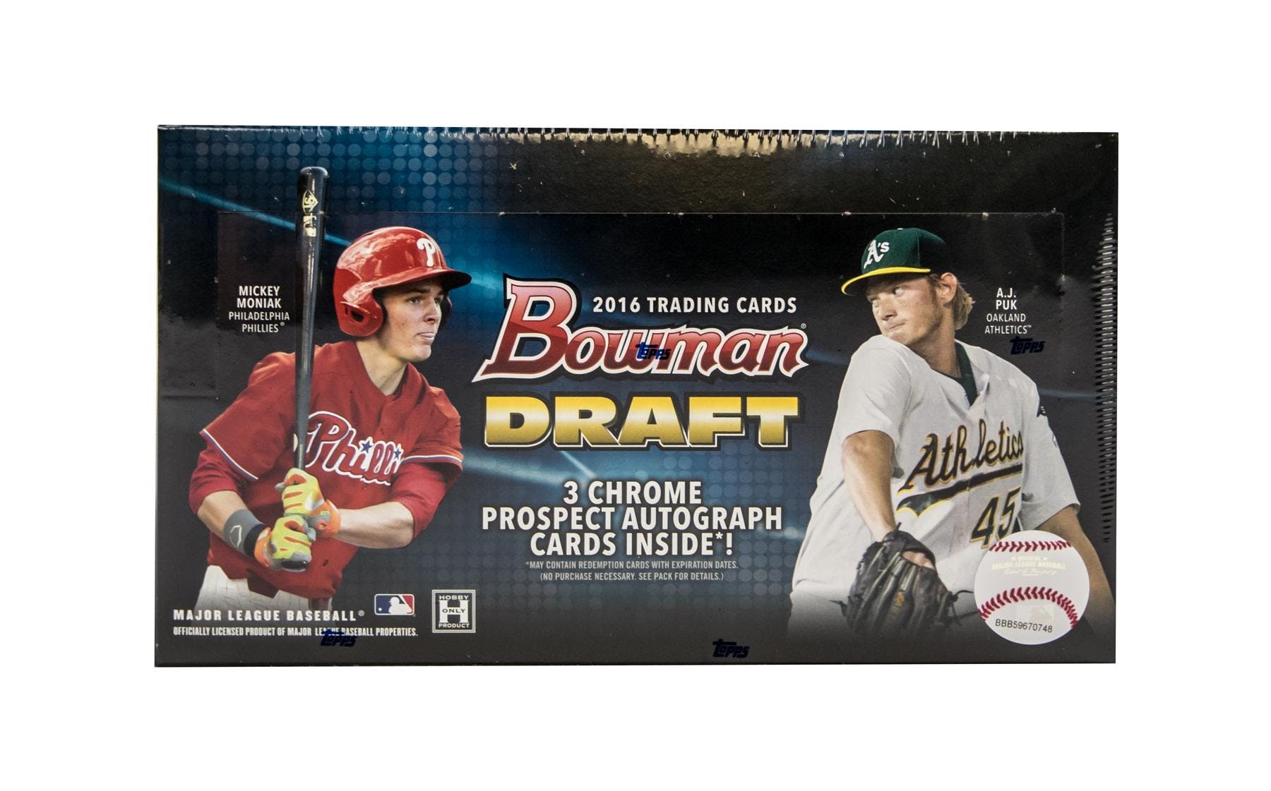 2016 Bowman Draft Baseball Hobby Jumbo Box Da Card World