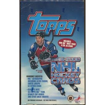 1999/00 Topps Hockey Retail 36-Pack Box