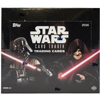 Star Wars Card Trader Hobby Box (Topps 2016)