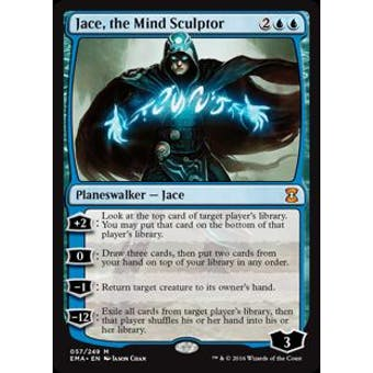 Magic the Gathering Eternal Masters Single Jace, the Mind Sculptor NEAR MINT (NM)