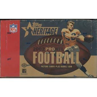 2002 Topps Heritage Football Hobby Box
