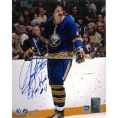 Jerry Korab Autographed Buffalo Sabres 8x10 Skating Photo