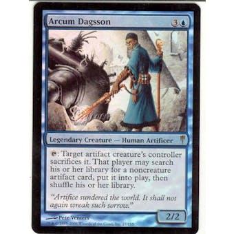 Magic the Gathering Coldsnap Single Arcum Dagsson Foil SLIGHT PLAY (SP)