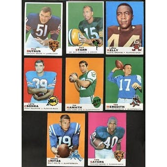 1969 Topps Football Complete Set (NM-MT condition)