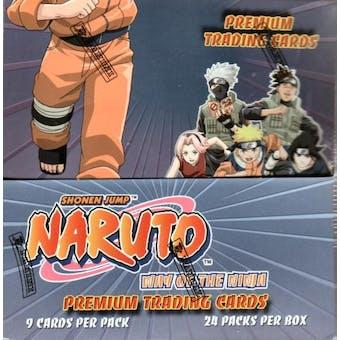 Naruto Way of the Ninja Hobby Box (Panini)