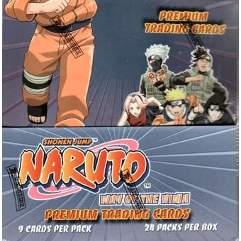 Naruto Way of the Ninja Hobby Box (Panini)