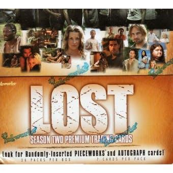 LOST Season Two Hobby Box (2006 InkWorks)