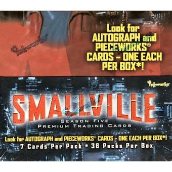 Smallville Season 5 Hobby Box (2006 InkWorks)