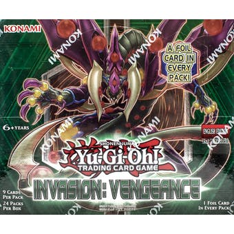 Yu-Gi-Oh Invasion: Vengeance Booster Box
