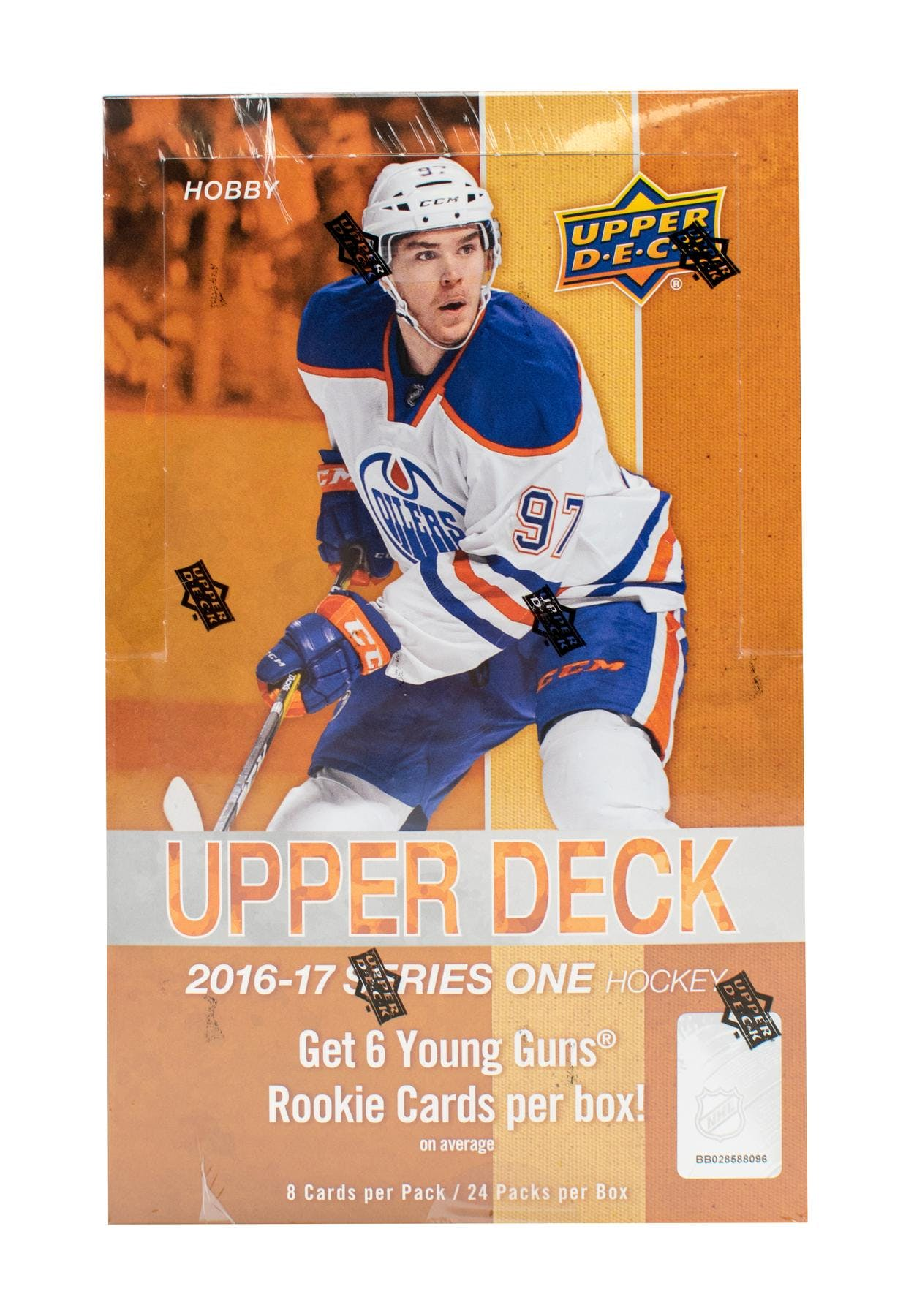 201617 Upper Deck Series 1 Hockey Hobby Box