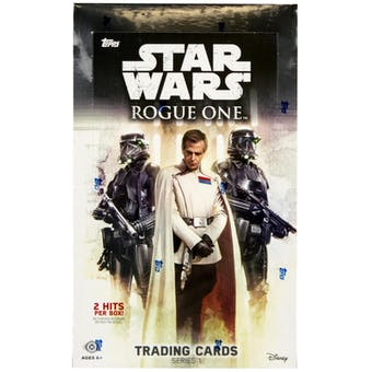 Star Wars Rogue One Series 1 Hobby Box (Topps 2016)