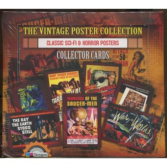 The Vintage Poster Collection Classic Sci-Fi & Horror Posters Box (2007 Breygent)
