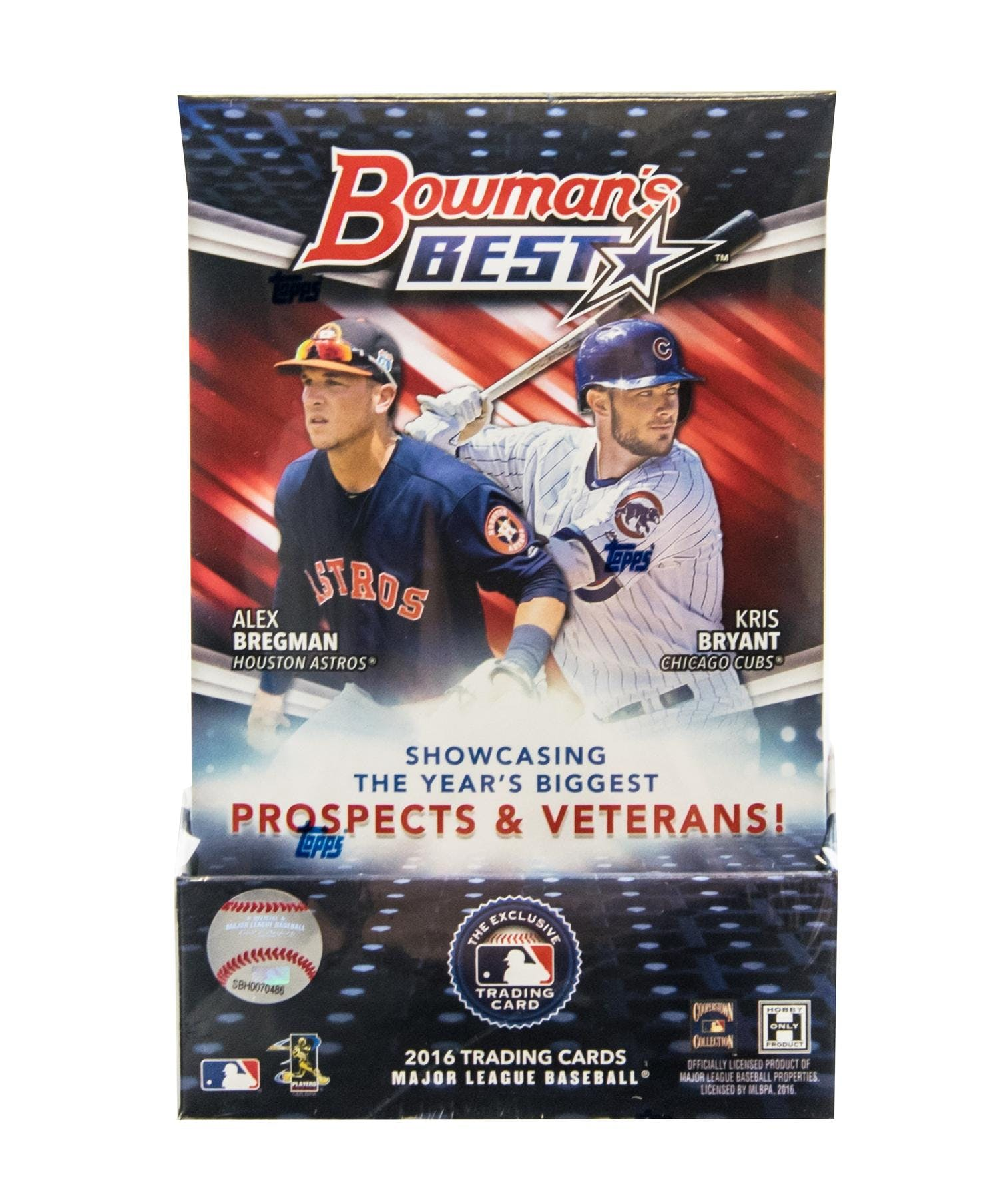 2016 Bowmans Best Baseball Hobby Box Da Card World