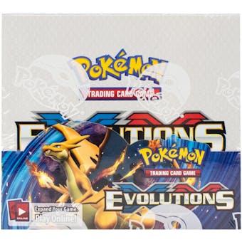 Pokemon XY Evolutions Booster Box (USA Print)