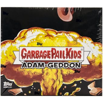 Garbage Pail Kids Series 1 Adam-Geddon Hobby Box (Topps 2017)