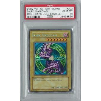 Yu-Gi-Oh Dark Duel Stories DDS Dark Magician DDS-002 PSA 10 GEM MINT