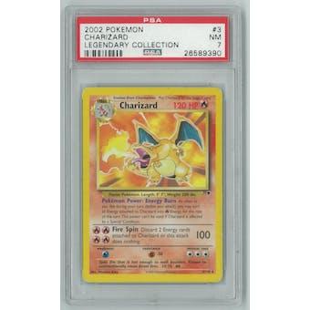 Pokemon Legendary Collection Theme Deck Charizard 3/110 PSA 7