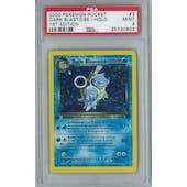 Pokemon Team Rocket 1st Edition Dark Blastoise 3/82 PSA 9