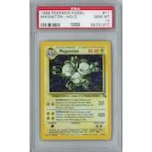 Pokemon Fossil Magneton 11/62 Holo Rare PSA 10 GEM MINT