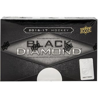 2016/17 Upper Deck Black Diamond Hockey Hobby Box