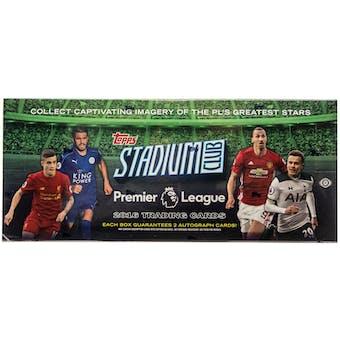 2016 Topps Stadium Club Premier League Soccer Hobby Box