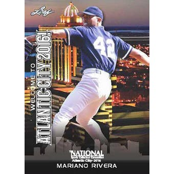 2016 Leaf National Sports Collectors Convention #01-VIP Mariano Rivera