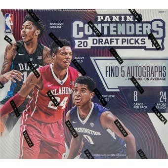 2016/17 Panini Contenders Draft Picks Basketball Hobby Box