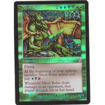 Magic the Gathering Time Spiral Time Shifted Single Nicol Bolas FOIL - NEAR MINT (NM)