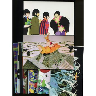 The Beatles: Yellow Submarine Large Collector Cards 72-Card Set (Lot of 100)
