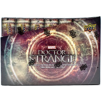 Marvel Doctor Strange Trading Cards Box (Upper Deck 2016)