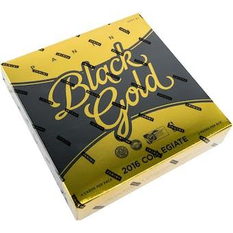 2016/17 Panini Black Gold Collegiate Basketball Hobby Box