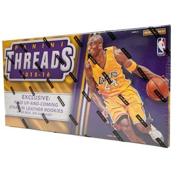 2015/16 Panini Threads Premium Basketball Hobby Box