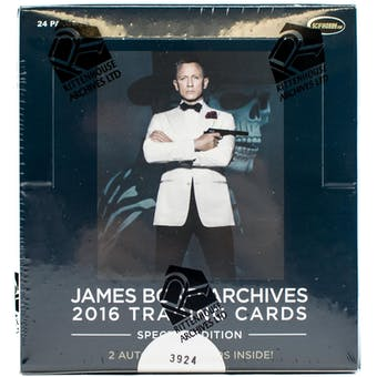 James Bond Archives Spectre Edition Trading Cards Box (Rittenhouse 2016)