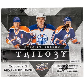 2016/17 Upper Deck Trilogy Hockey Hobby Box