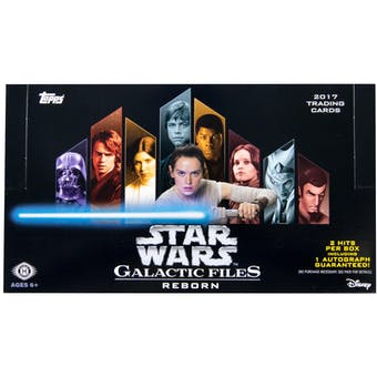 Star Wars Galactic Files: Reborn Hobby Box (Topps 2017)