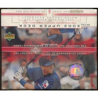 2002 Upper Deck Series 1 Baseball Retail 24-Pack Box