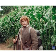 Sean Astin Autographed Rings Corn 8x10 Lord Of The Rings Photo
