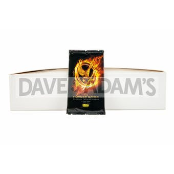 Neca The Hunger Games Premium Trading Cards 100-Pack Box