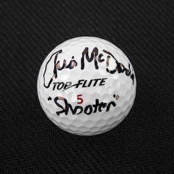 Christopher McDonald Autographed Golf Ball Shooter McGavin