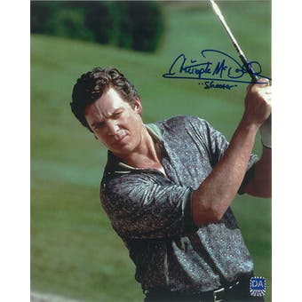Christopher McDonald Autographed Swing 8x10 Shooter McGavin Photo