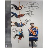 Comic Book Men Autographed Wall 16x20 Photo