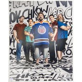 Comic Book Men Autographed Words 16x20 Photo