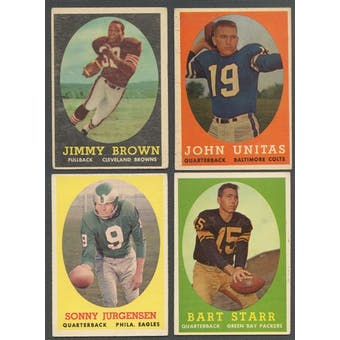 1958 Topps Football Complete Set (EX-MT condition)