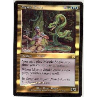 Magic the Gathering Apocalypse Single Mystic Snake Foil