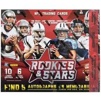 2015 Panini Rookies & Stars Longevity Football Hobby Box